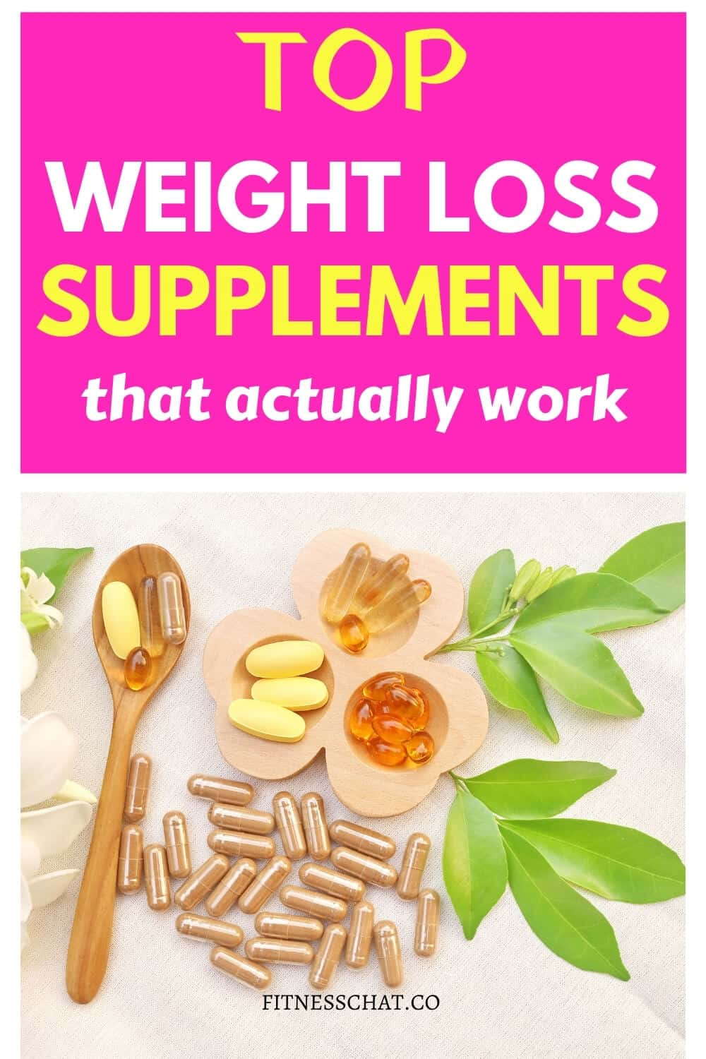 supplements for weight loss woman