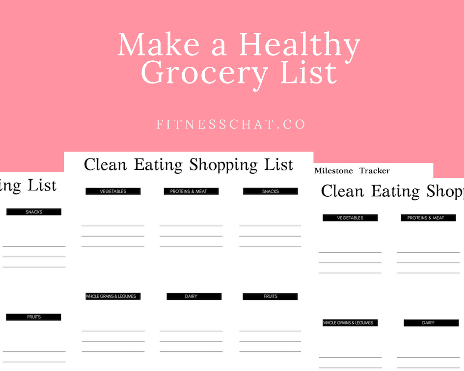 Make a Healthy Grocery List