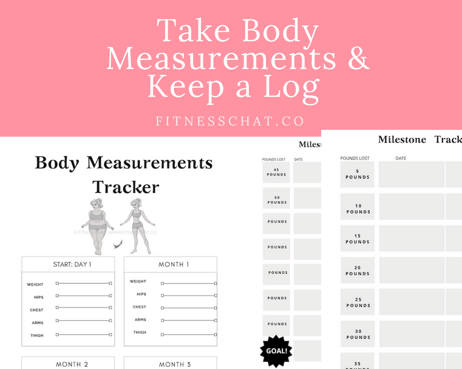 how to lose weight naturally without exercise. Take Body Measurements and track meals
