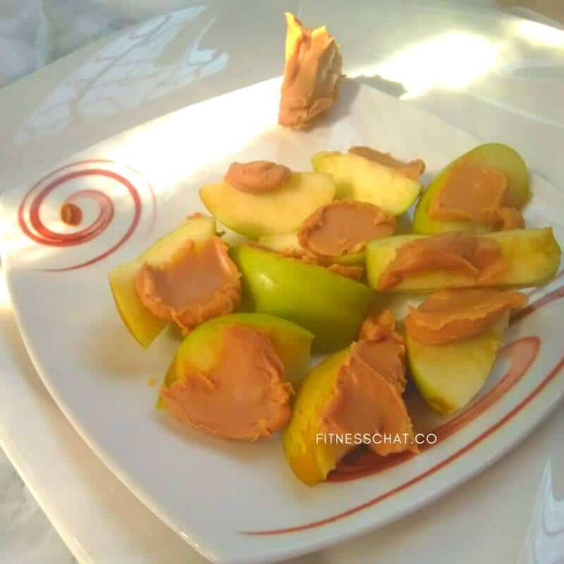 Apples and Peanut Butter Recipe