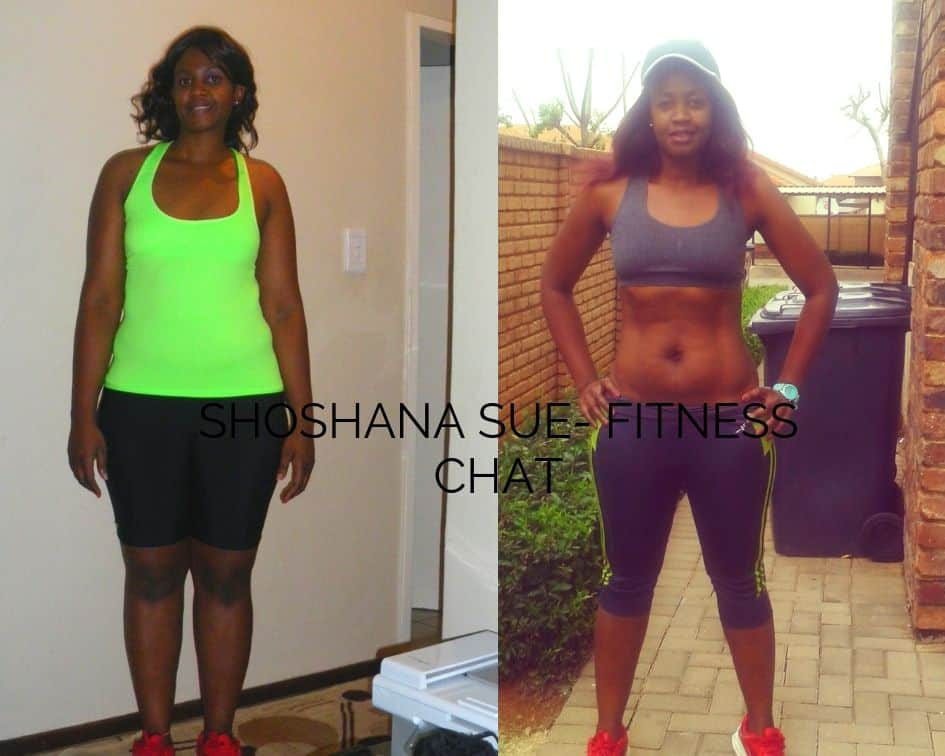 Fitness chat founder shoshana sue weight loss story