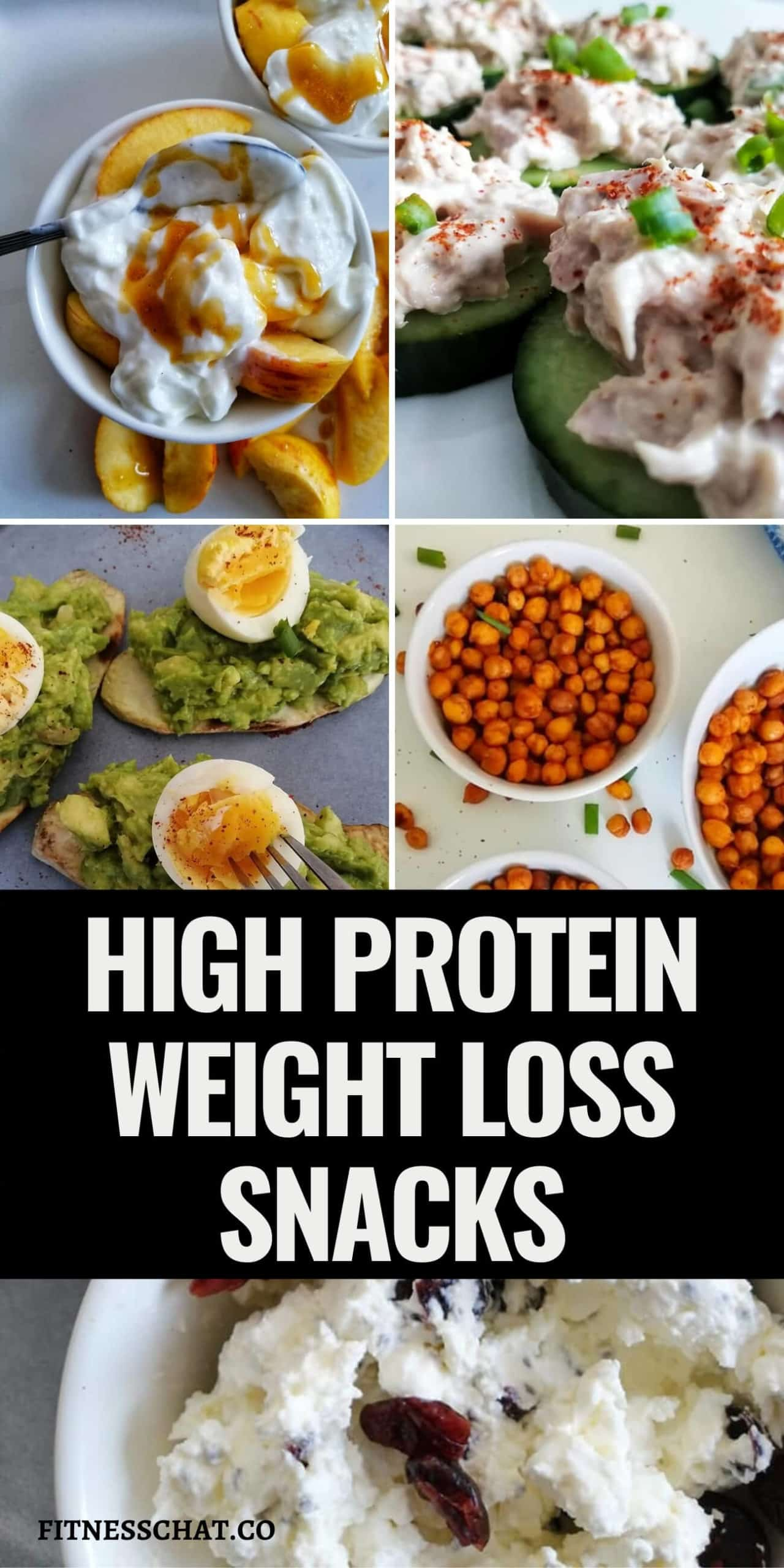 High protein snacks weight loss