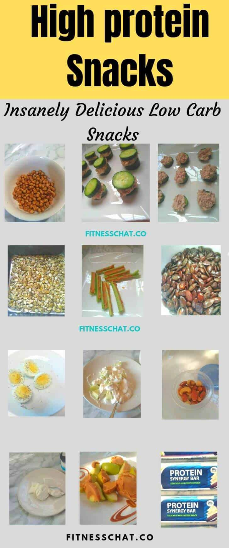 healthy snacks for weight loss. High protein low carb snacks