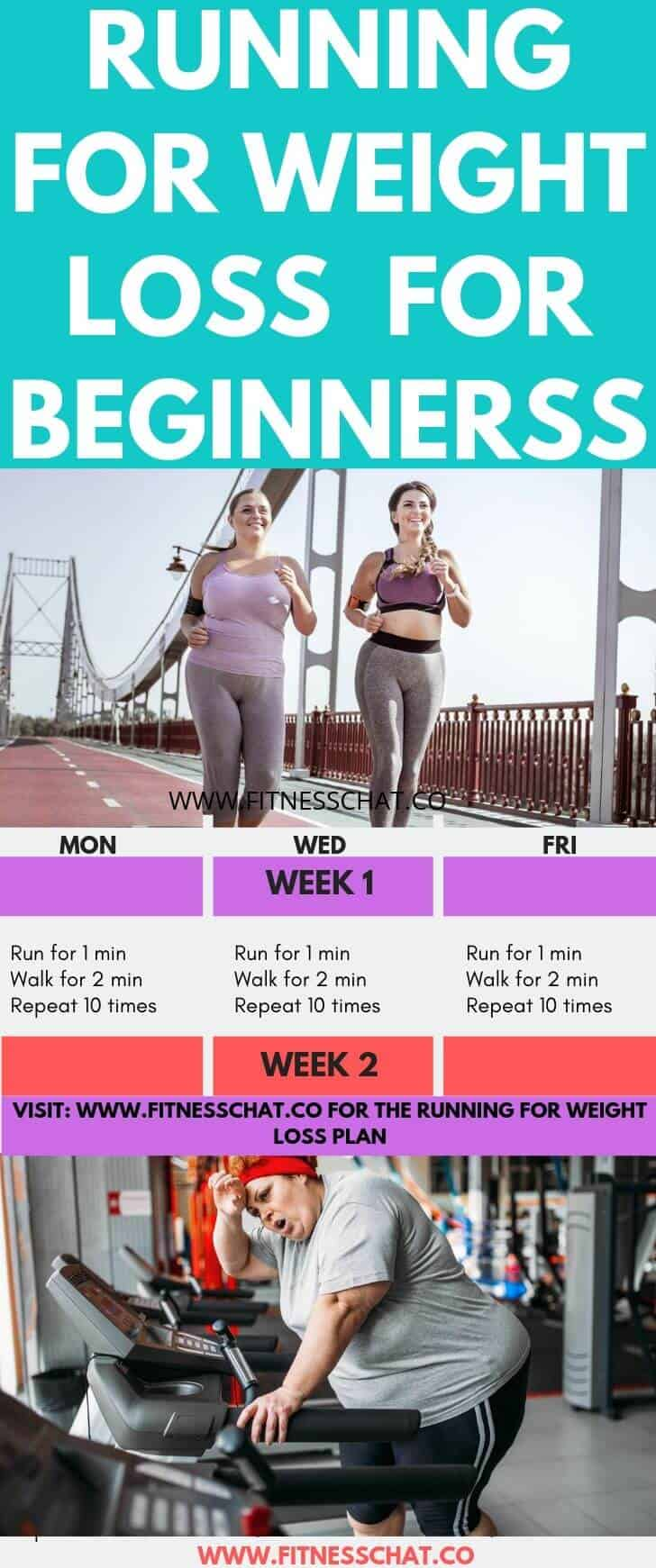 8 week running plan for weight loss
