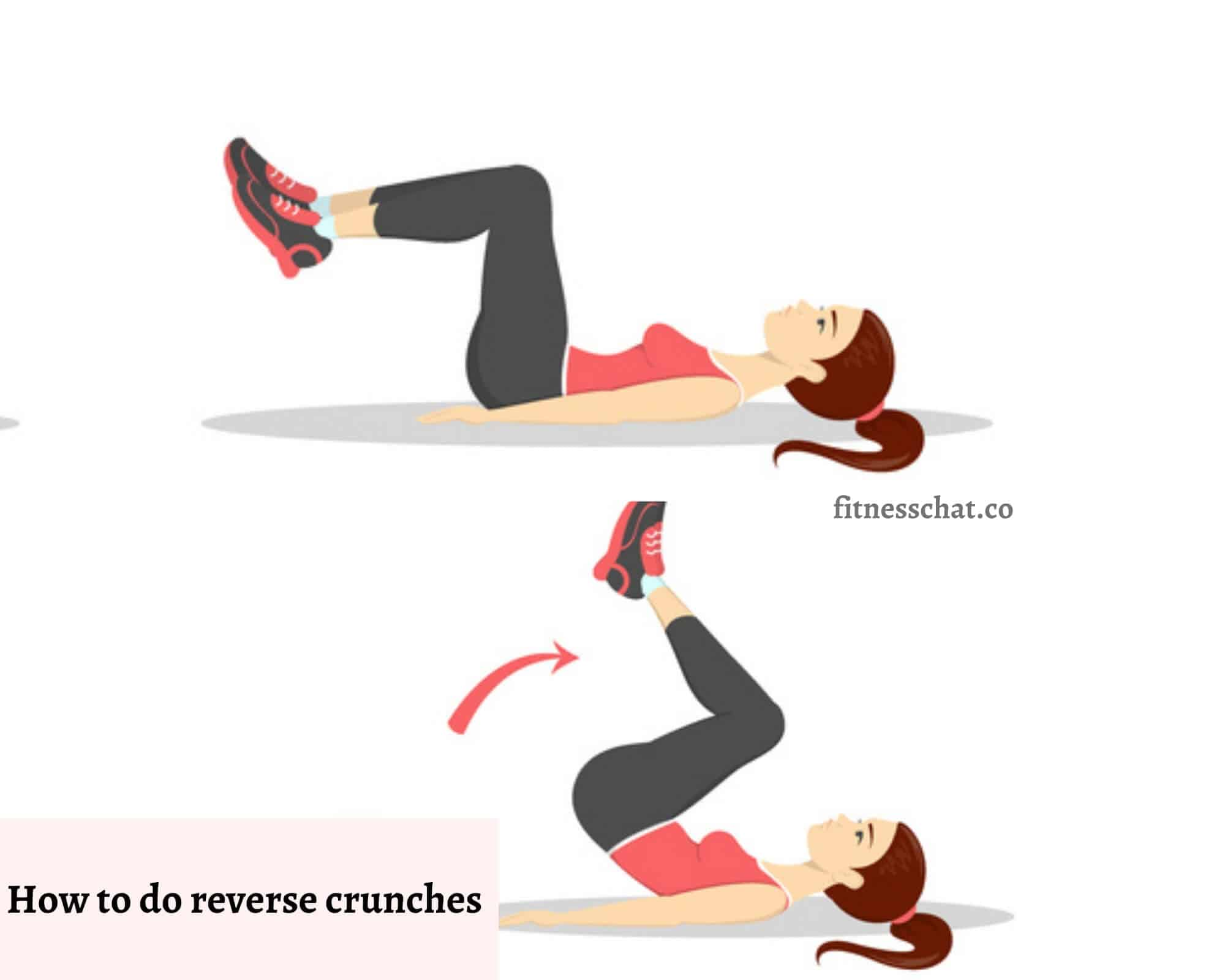 How to do reverse crunches