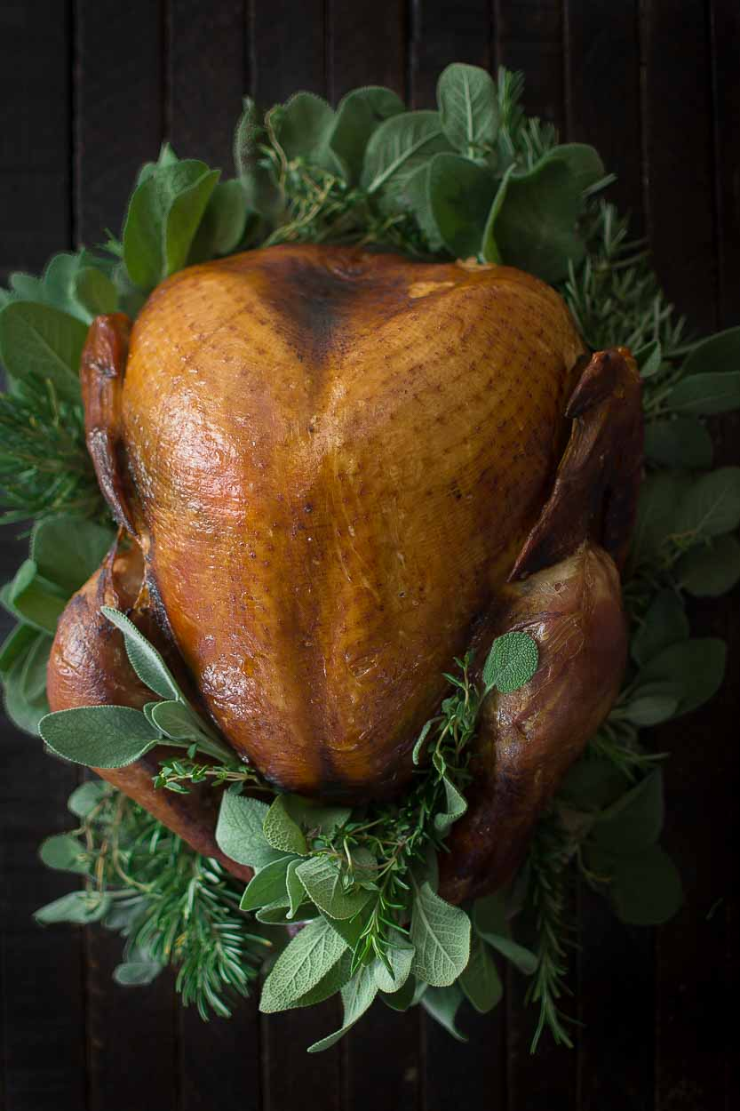 healthy eating during the holidays- slow roasted turkey