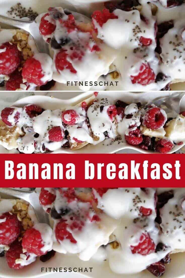 banana boat breakfast