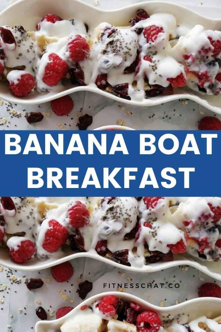 Insanely delicious banana split breakfast recipe (simple healthy breakfast)