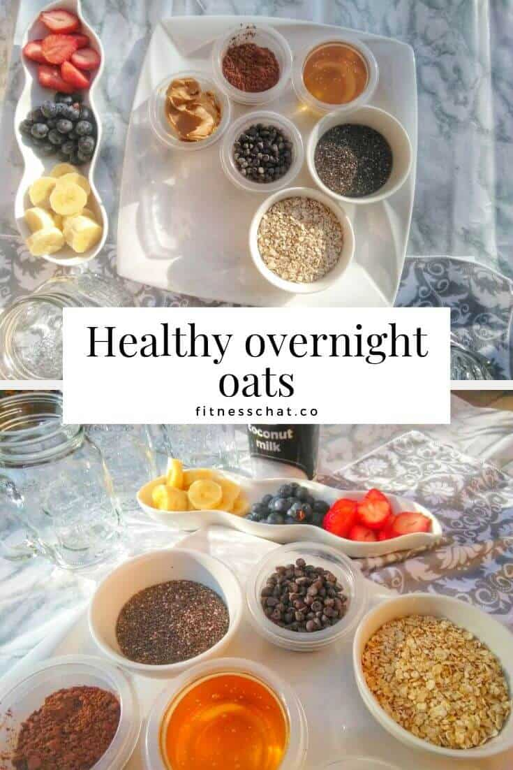 healthy overnight oats for weight loss. overnight oats healthy easy