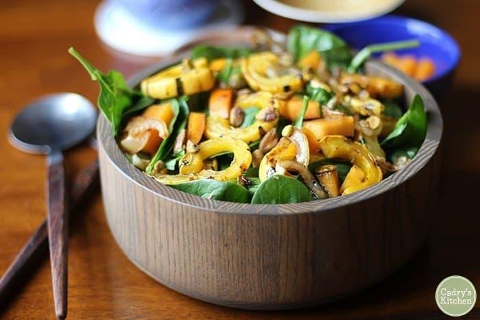 fall-salad-delicata-squash