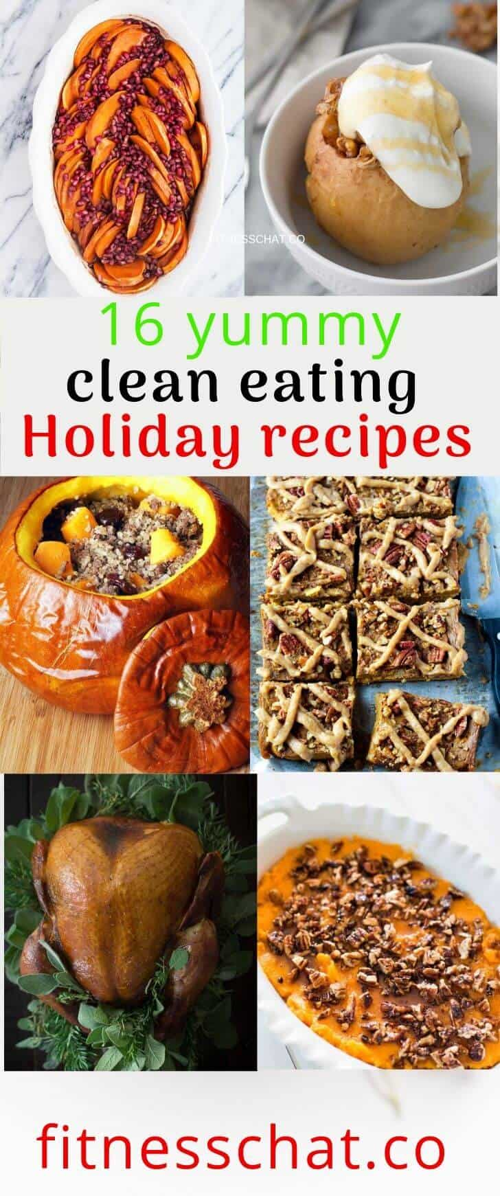 healthy holiday recipes for christmas