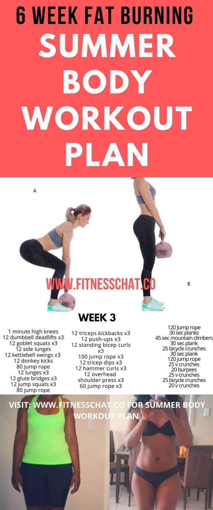 Summer Workout Plan   Summer Body Workouts   Month Workout   At Home Workout Plan