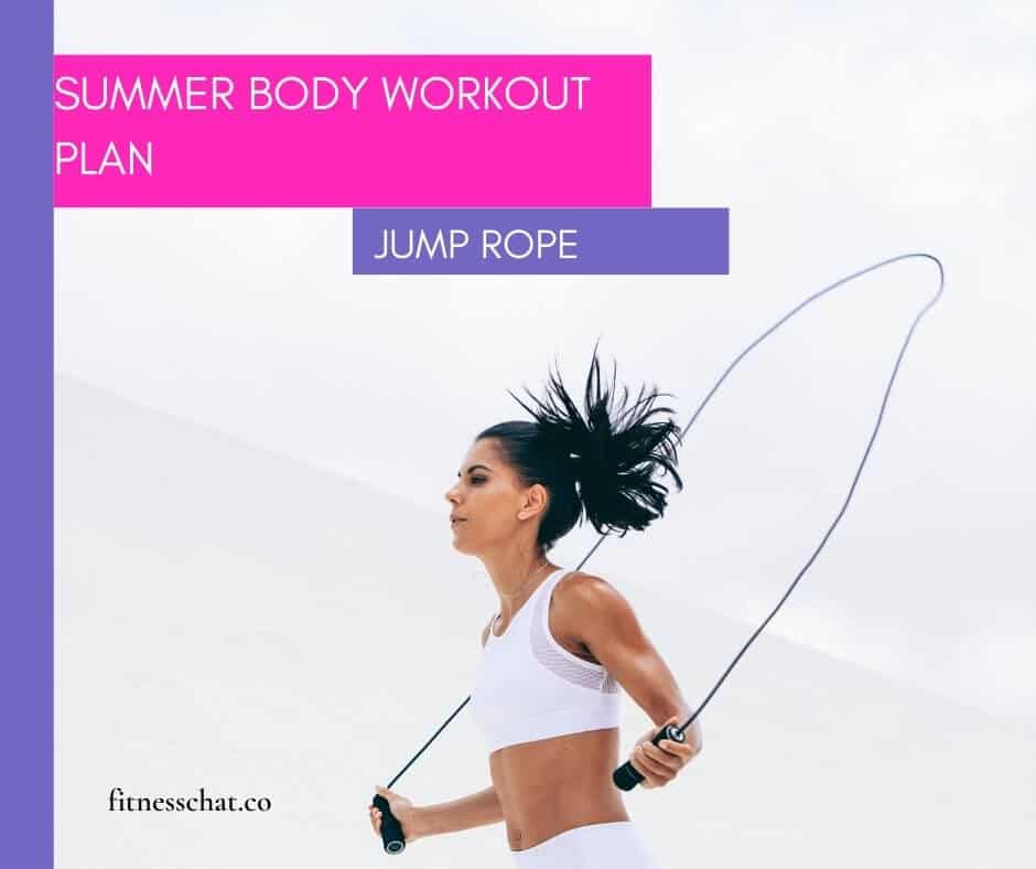 jump rope to lose weight