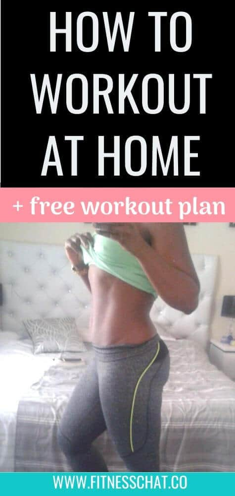 how to workout at home. best home workout program