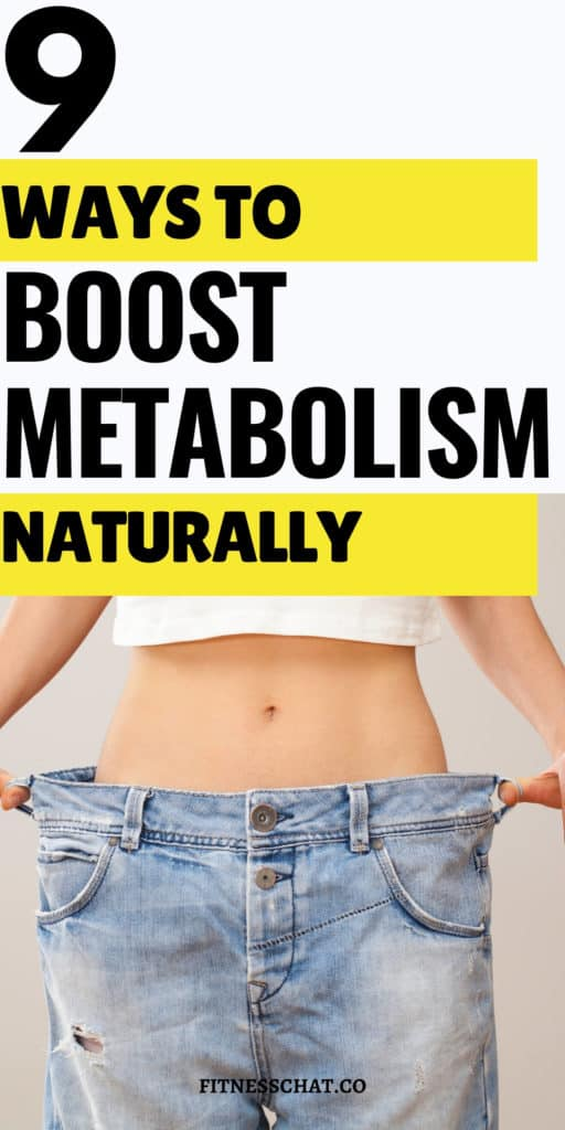 How can I boost my metabolism to lose weight?