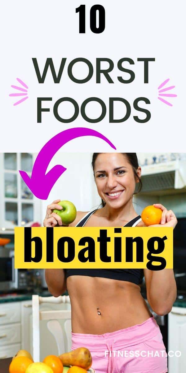 foods that cause bloating and inflammation