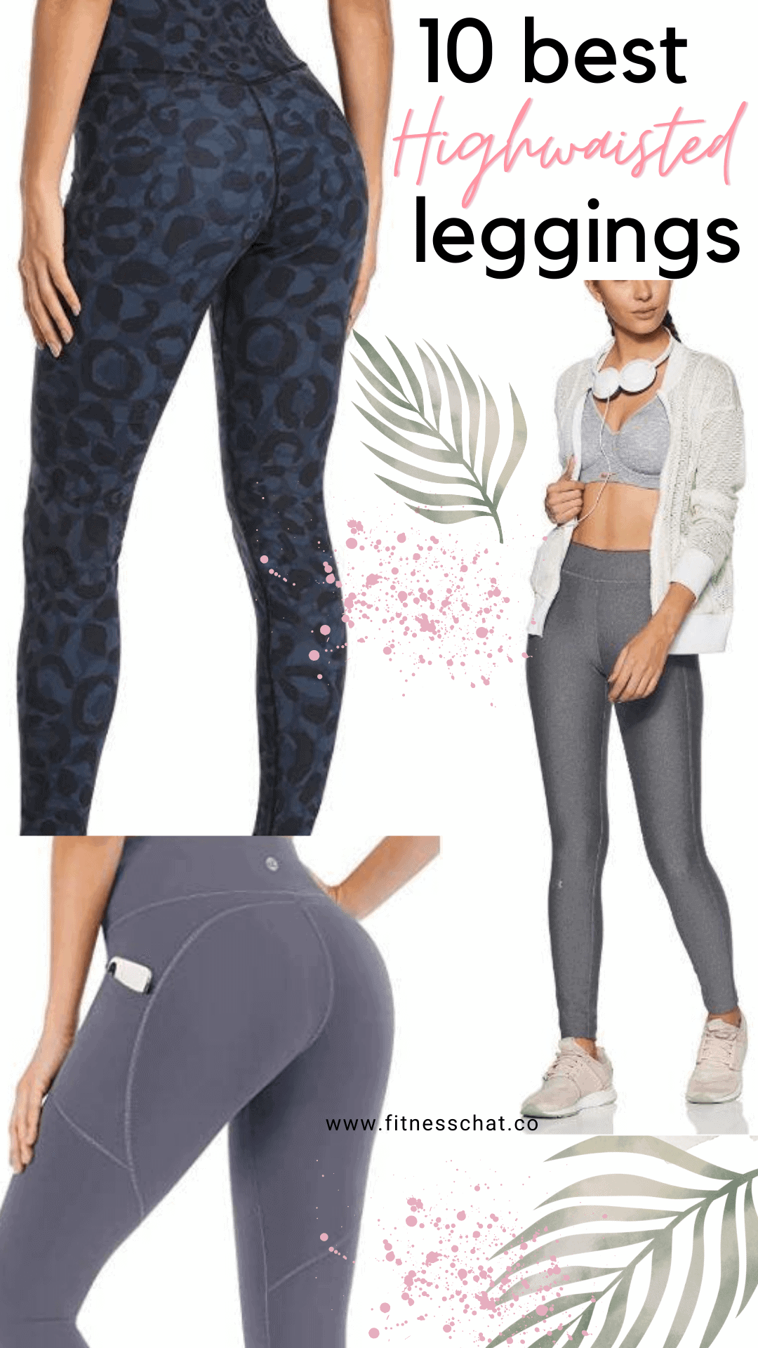 best high-waisted running leggings