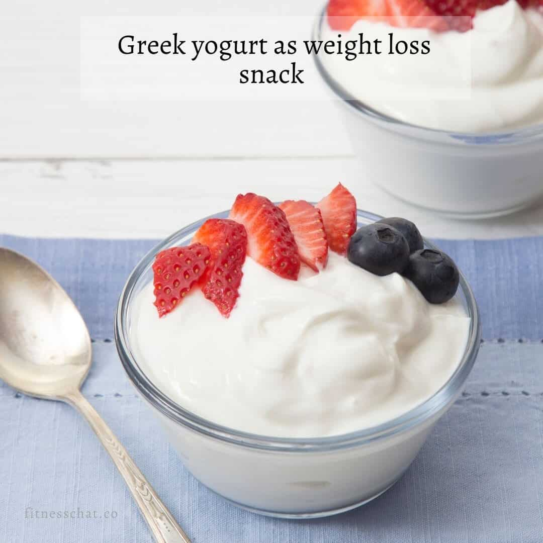 How to enjoy Greek yogurt as weight loss snack