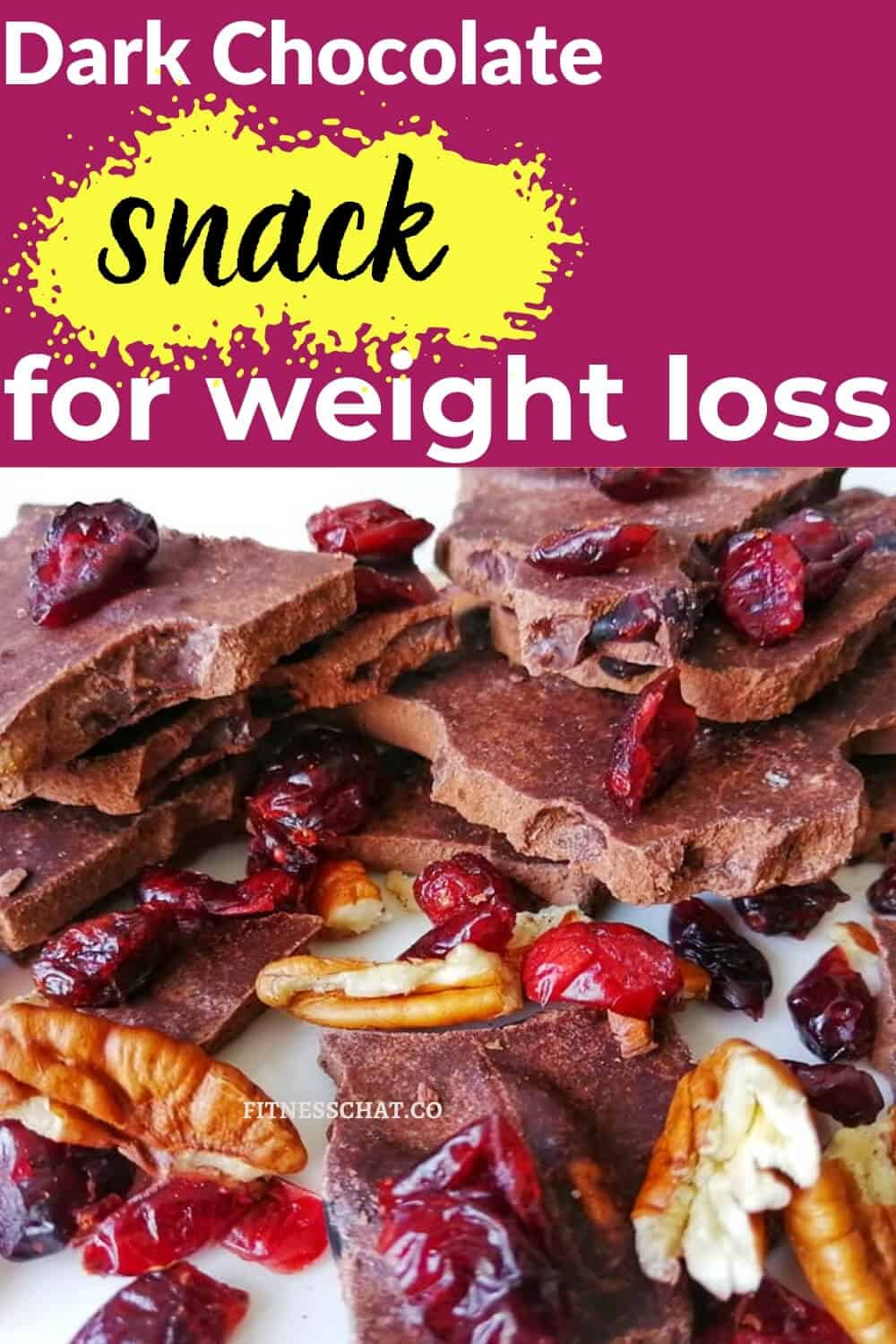 dark chocolate snack for weight loss